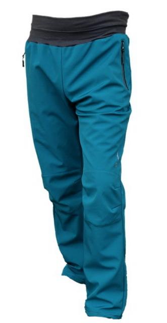 5f594cd8fc8 Pánské softshellové kalhoty - petrolejové